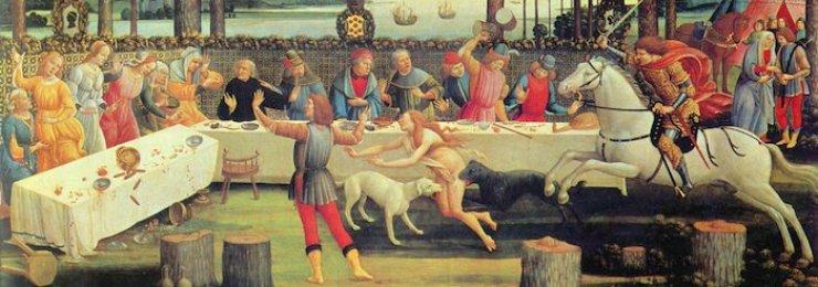 Dal Decameron, la novella di Ser Cepparello da Prato. F71fe635f32572d9f1d400f9cd53de1f_large_